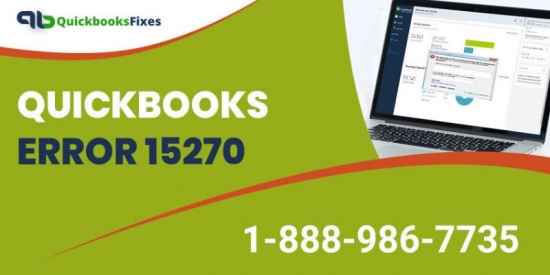 QuickBooks Error 15270 | QuickBooks Error Code 152