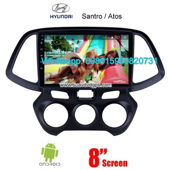 Hyundai Santro Atos Car Audio Radio Android WIFI