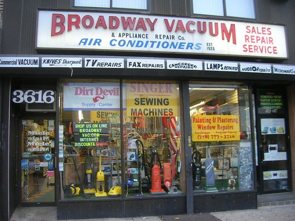 Broadway Vacuum and Appliance Repair Corp.