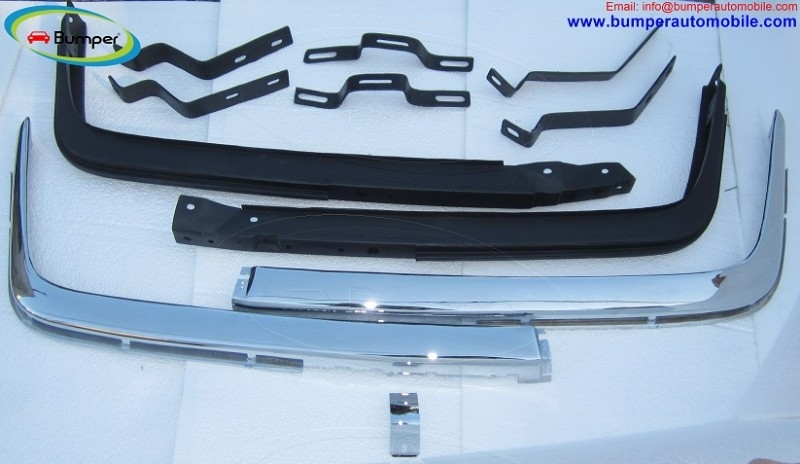 Mercedes W107 R107 bumper in stainless steel
